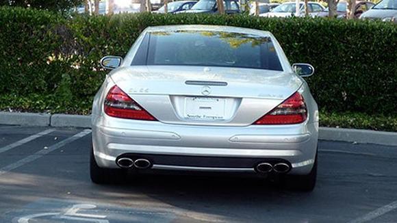 Steve Jobs' car
